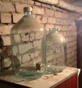 20 литровая бутыль
