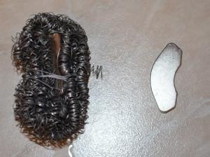 Магнит и железная губка
