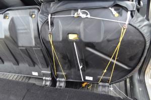 Чехол на заднем сиденье