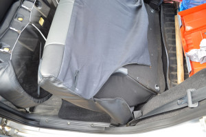 Чехол на спинку заднего сиденья