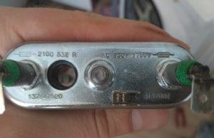 характеристики тэна стиральной машины AEG