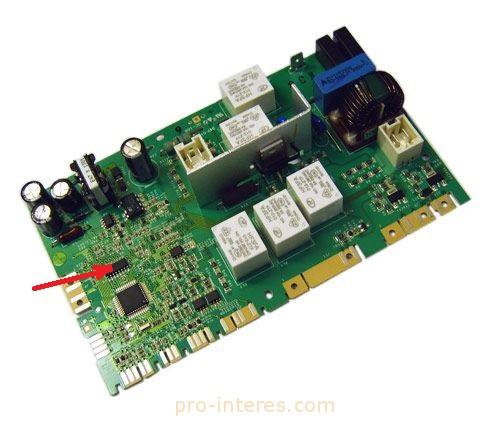 Плата блока управления и микросхема ULN2004A