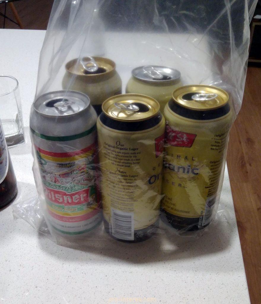 Алюминиевые банки из-под пива