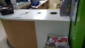 Стойка приема тары в магазине